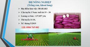 Đơn hàng nông nghiệp