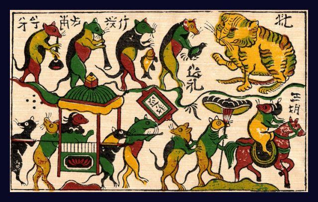 Tranh Đông Hồ là sản phẩm đặc trưng riêng của người Việt, chắc chắn có ý nghĩa lớn khi bạn tặng quà cho đối tác Nhật Bản