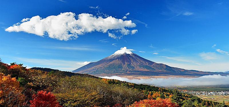 Nếu tới Nhật, bạn nên một lần ghé thăm ngọn núi Phú Sĩ lừng danh