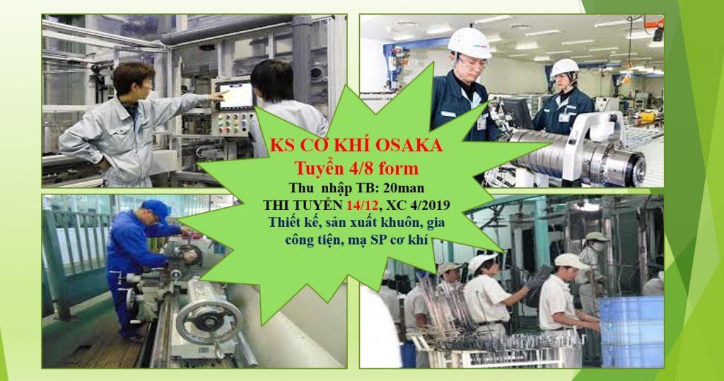 đơn hàng kỹ sư cơ khí