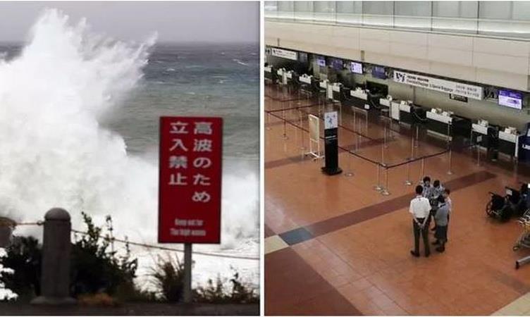 Các chuyến bay đã bị hủy do bão Hagibis. (Nguồn: Getty)