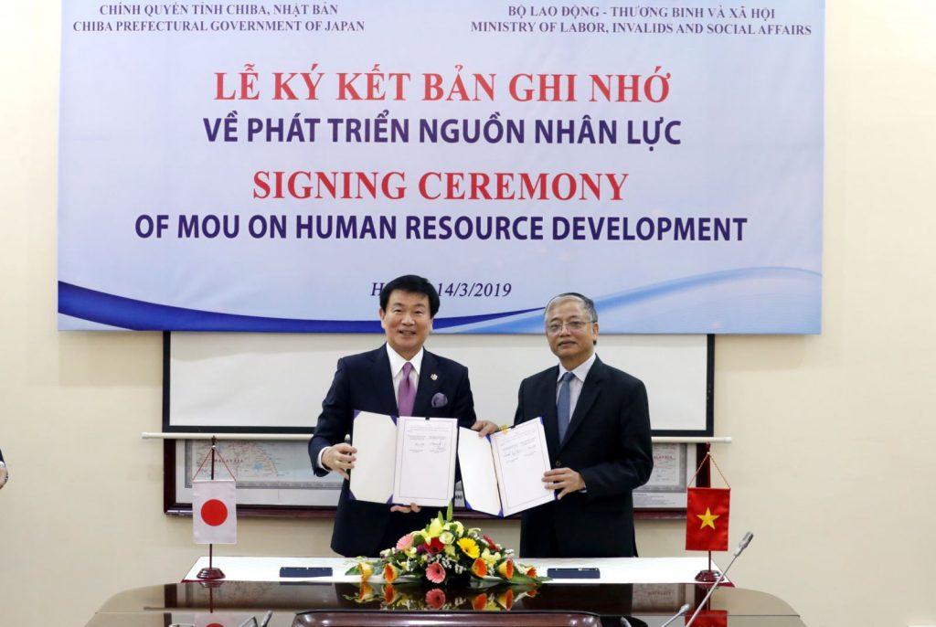 Tỉnh chiba thúc đẩy hợp tác cung ứng nguồn nhân lực cùng Việt Nam
