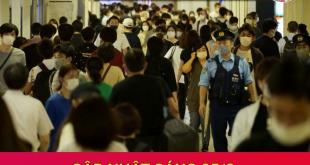 Ca nhiễm mới covid 19 tại Nhật ngày 25/8/2021