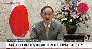 Ông Suga cam kết 800 triệu đôla cho COVAX