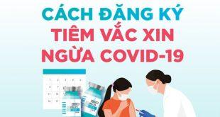 Hướng dẫn Đăng ký Online tiêm Vaccine Covid-19.