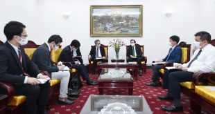 Bộ trưởng Đào Ngọc Dung đã có buổi tiếp thân mật ông Yamada Takio