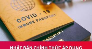 Nhật Bản áp dụng hộ chiếu Vaccine