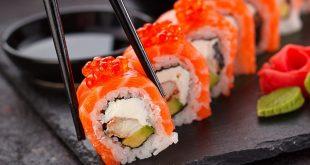 Image result for ăn sushi