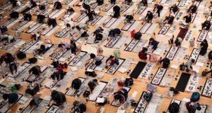 Thi thư pháp đầu năm mới - Nét văn hóa truyền thống tại Nhật Bản - Ảnh 1.