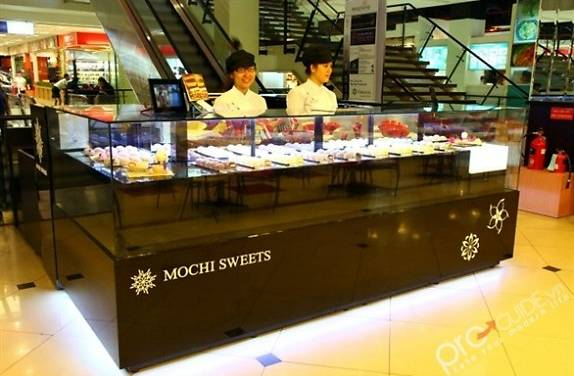 Image result for bánh gạo Mochi Sweets