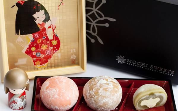Bánh gạo Mochi Sweets & Choux Crème thơm ngon hấp dẫn
