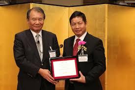 Ông Trương Gia Bình là doanh nhân Việt Nam đầu tiên nhận giải thưởng Nikkei Asia (ảnh: VOV)